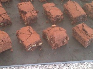 Spot on brownies